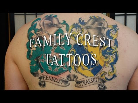 Family Crest Tattoos