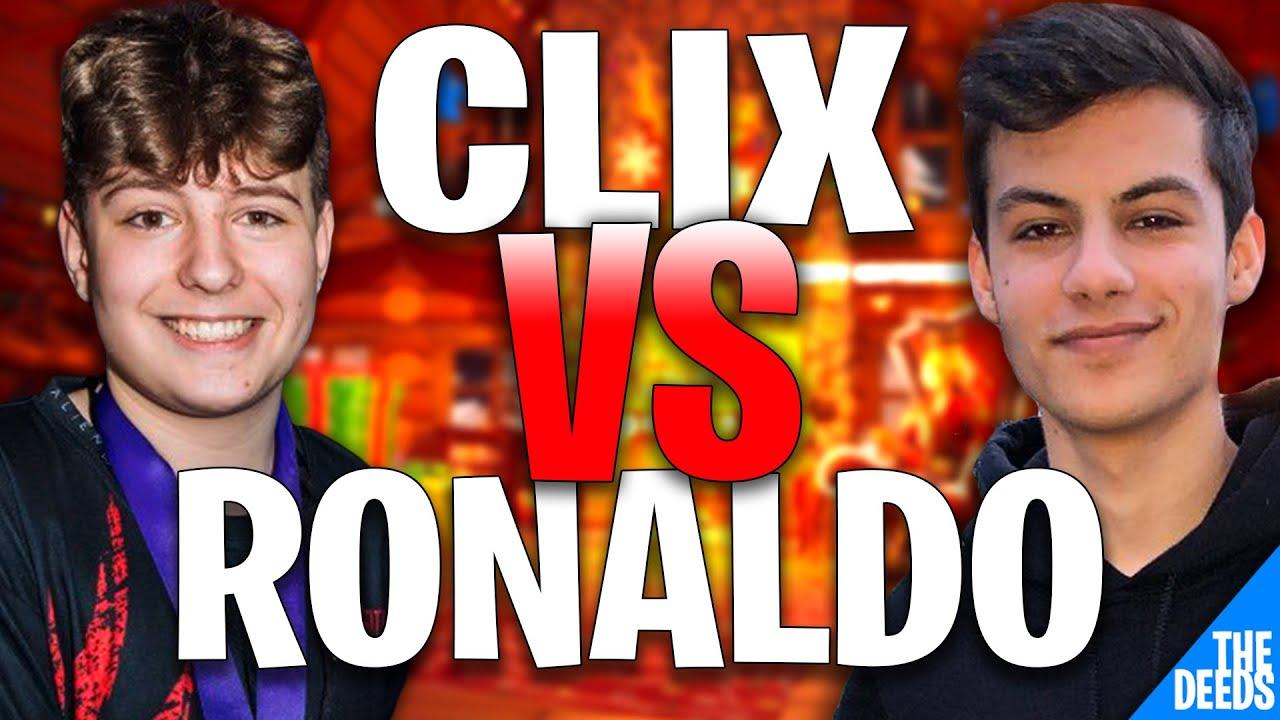 NRG Clix 1 VS 1 NRG Ronaldo Right After He Joins NRG TEAM | Creative 1v1 *NRG BUILD FIGHTS*