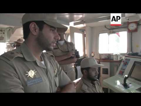 Saudi ship takes part in Persian Gulf mine exercise