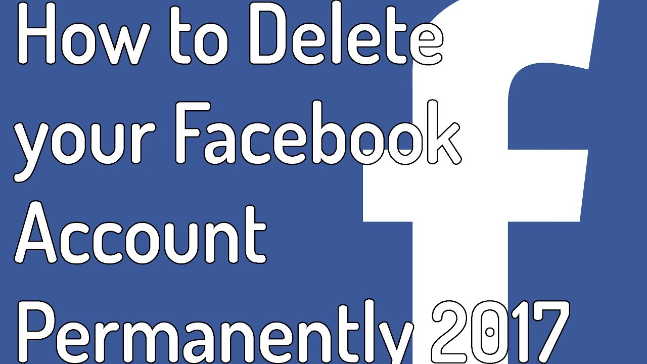 How To Delete Facebook Account - 110.1KB