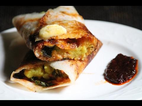 Mysore Masala Dosa Recipe - How to Make Crispy Dosa Recipe