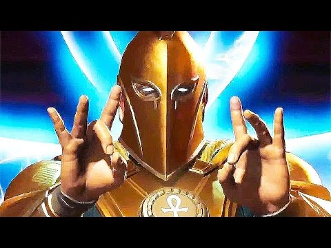 INJUSTICE 2 Gameplay Dr Fate Vs Robin (PS4/Xbox One) 2017