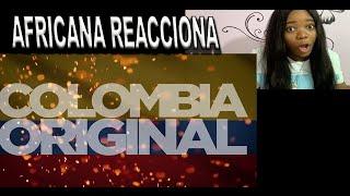 AFRICANA reacciona Las 15 cosas que tiene COLOMBIA y OTROS PAÍSES NO
