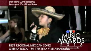 BEST REGIONAL MEXICAN SONG | NOMINEES | OTV MUSIC AWARDS 2013