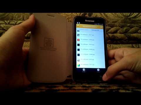 Как поставить обои на экран блокировки (lockscreen) на Lenovo A859