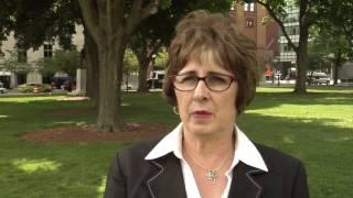 Sen. Emmons speaks about Human Trafficking
