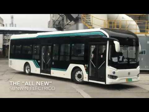 Sunwin New Model: Shanghai City Bus