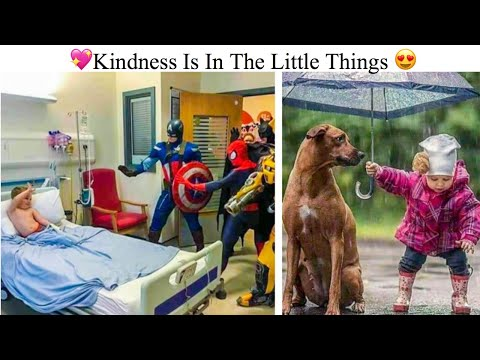 Photos Showing That Kindness Is In The Little Things
