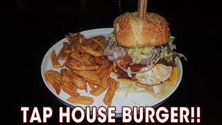 5lb Bacon Egg Cheeseburger Challenge @ Tap House Grill | Randy Santel
