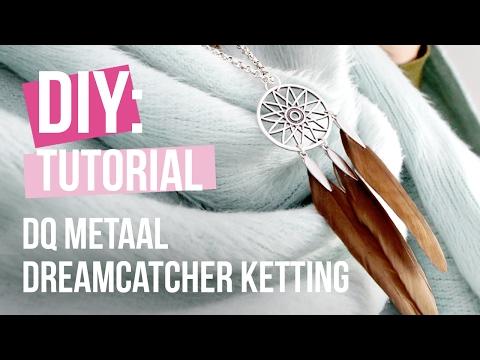 Sieraden maken: Dreamcatcher ketting ♡ DIY