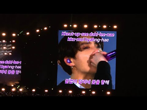 BTS - Whole Speech Wembley Stadium + Army Singing Young Forever (02.06.2019)