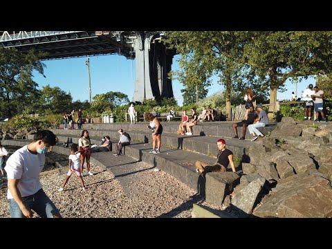 ⁴ᴷ⁶⁰ Walking NYC : DUMBO & Brooklyn Bridge Park (August 30, 2020)