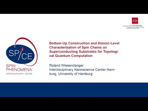 Talks - Exotic New States In Superconducting Devices - Roland Wiesendanger, University of Hamburg