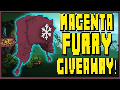 MAGENTA FURRY GIVEAWAY! + TRADE ATTEMPTS / OFFERS ON ANIMAL JAM
