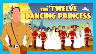 The Twelve Dancing Princess Full Story In English || 12 DANCING PRINCESS - Kids Stories