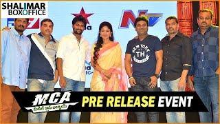 MCA Telugu Movie Pre Release Event || Nani, Sai Pallavi, Bhumika || Shalimar Film Express