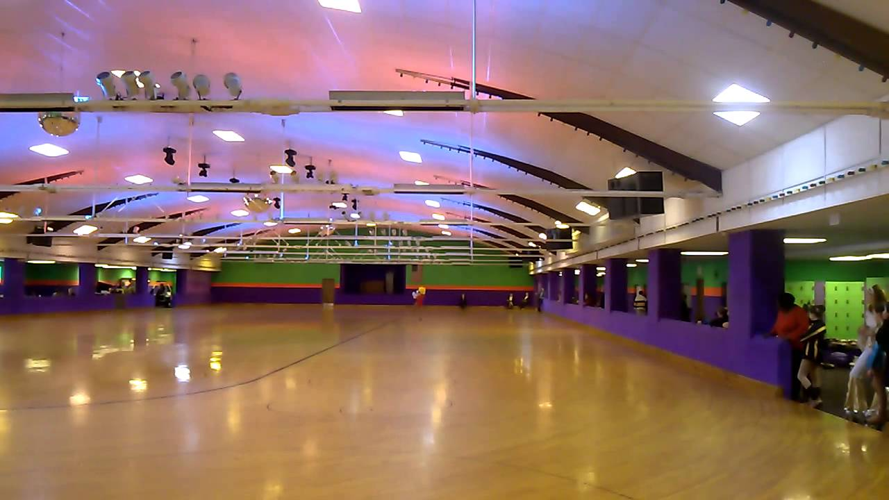 how to build a roller skating rink floor