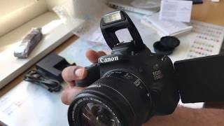 فتح صندوق كاميرا كانون 200 دي Canon 200D Rebel Sl2