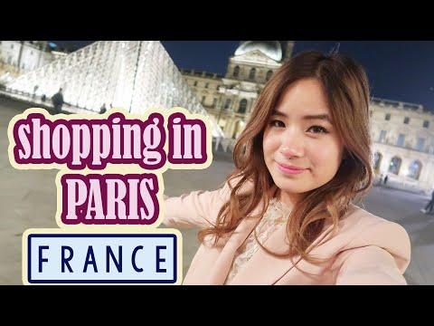 Shopping in PARIS & Haul | Kim Dao ft. Bambigirl