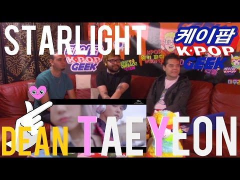 TAEYEON 태연_Starlight (Feat. DEAN) MV REACTION #FANBOYS