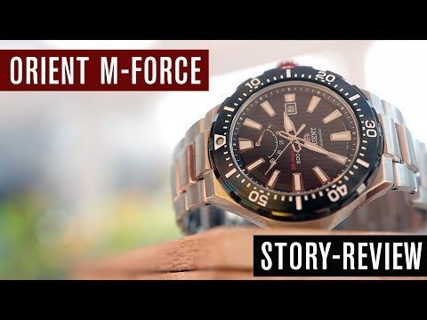 Story-Review: Orient M-Force SEL07002B0