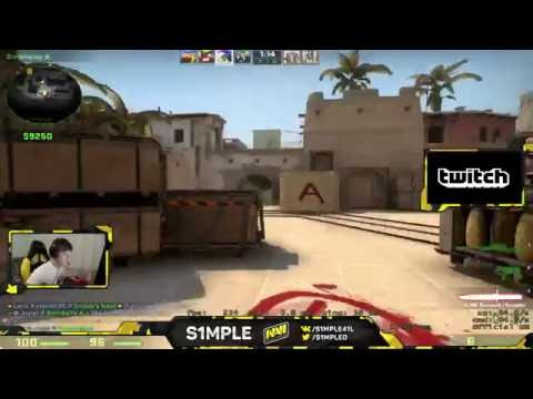 Download lagu S1mple Easily Carry Himself to Global Elite
