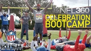 NFL Pro Bowlers go to Celebration Bootcamp with Boogie Down Brown | NFL Rush