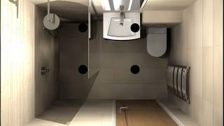Contemporary Wet Room Bathroom Design Ideas