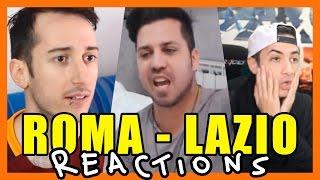 TIPI DI TIFOSI AL DERBY! - Reaction w/ Brazocrew Sodin e Zoda - Roma Lazio [ilvostrocarodexter]