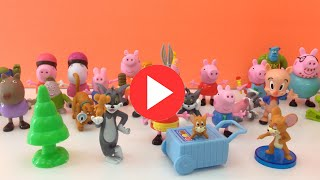 Peppa Pig Ice Cream Time, Tom and Jerry, Monster University, Scooby Doo