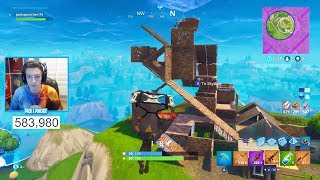 The Craziest 1v1 Building Fight on Fortnite EVER?! - BEST Console 1v1 Fight (Fortnite Battle Royale)