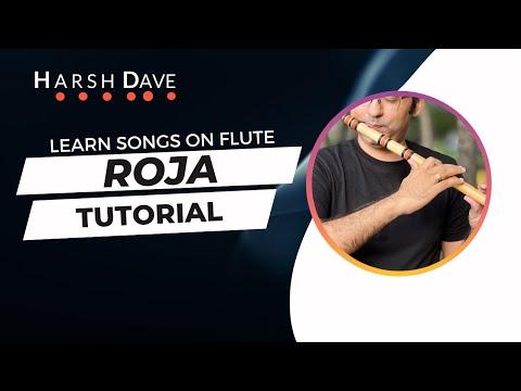 Roja Or Kadhal Rojave Tutorial   Mani Ratnam   A R Rehman   Kali 2 Flute