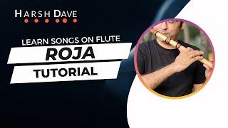 Incredible Instrumental - Roja or Kadhal Rojave on flute (Kali 2)
