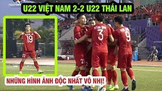 U22 Việt Nam 2-2 U22 Thái Lan: Những hình ảnh cảm xúc độc nhất vô nhị, Tiến Linh tiễn Thái về nước