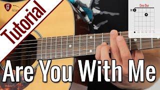 Lost Frequencies Are You With Me Gitarren Tutorial Deutsch