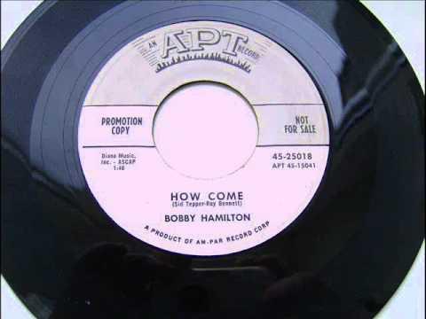 Bobby Hamilton - Uh-Huh, Baby / Lonesome Blues