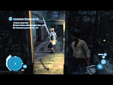 Assassin's Creed 3 Gameplay/Walkthrough Sequence 8 Part 3 Jail Break