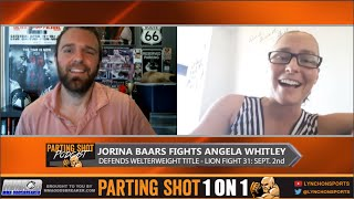"Lion Fight 31 Jorina Baars ""I'll get the finish in the 3rd round"""
