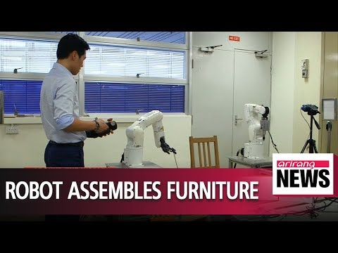 Robot builds Ikea chair in 20 minutes