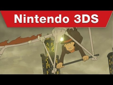 Nintendo 3DS - Professor Layton and the Azran Legacy Story Trailer