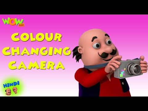 Colour Changing Camera - Motu Patlu in Hindi WITH ENGLISH, SPANISH & FRENCH SUBTITLES thumbnail