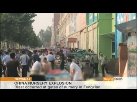 Explosion Outside Kindergarten Kills At Least 7 And Injures More Than 50 In China!