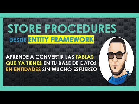 Como ejecutar un STORE PROCEDURE con ENTITY FRAMEWORK Core