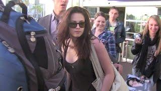 Kristen Stewart's pathetic arrival in Cannes
