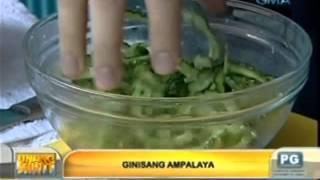 Unang Hirit: Tips para mawala ang pait na lasa ng ampalaya