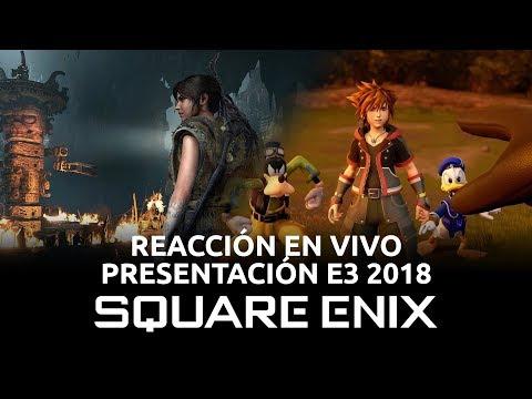 Presentación Square Enix - Reacción en Vivo, E3 2018 | 3GB