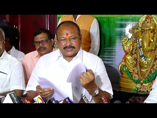 Shri Kanna Laxminarayana garu addressing Press at Guntur | 17-10-2018