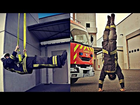 STRONG FIREFIGHTER �� With Explosive Workout �� Strike Workout