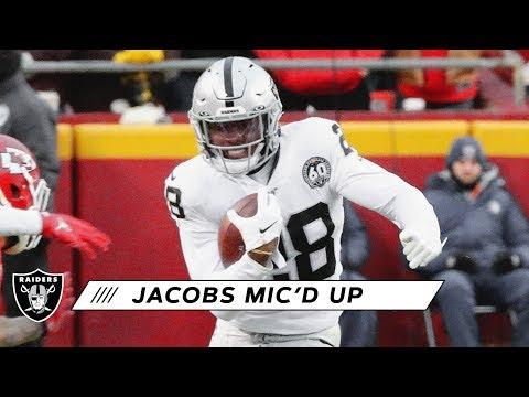 Josh Jacobs Mic'd Up Vs. Chiefs | Raiders