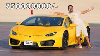 Driving Our Lamborghini - Worth ₹5 Crore | Super Car